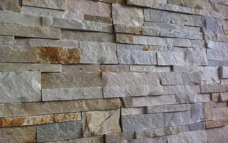 Piastrelle finta pietra per interni. gallery of pannelli in finta