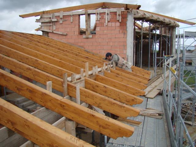 Copertura in legno a forma di esagono tre emme service for Tetti in legno particolari costruttivi