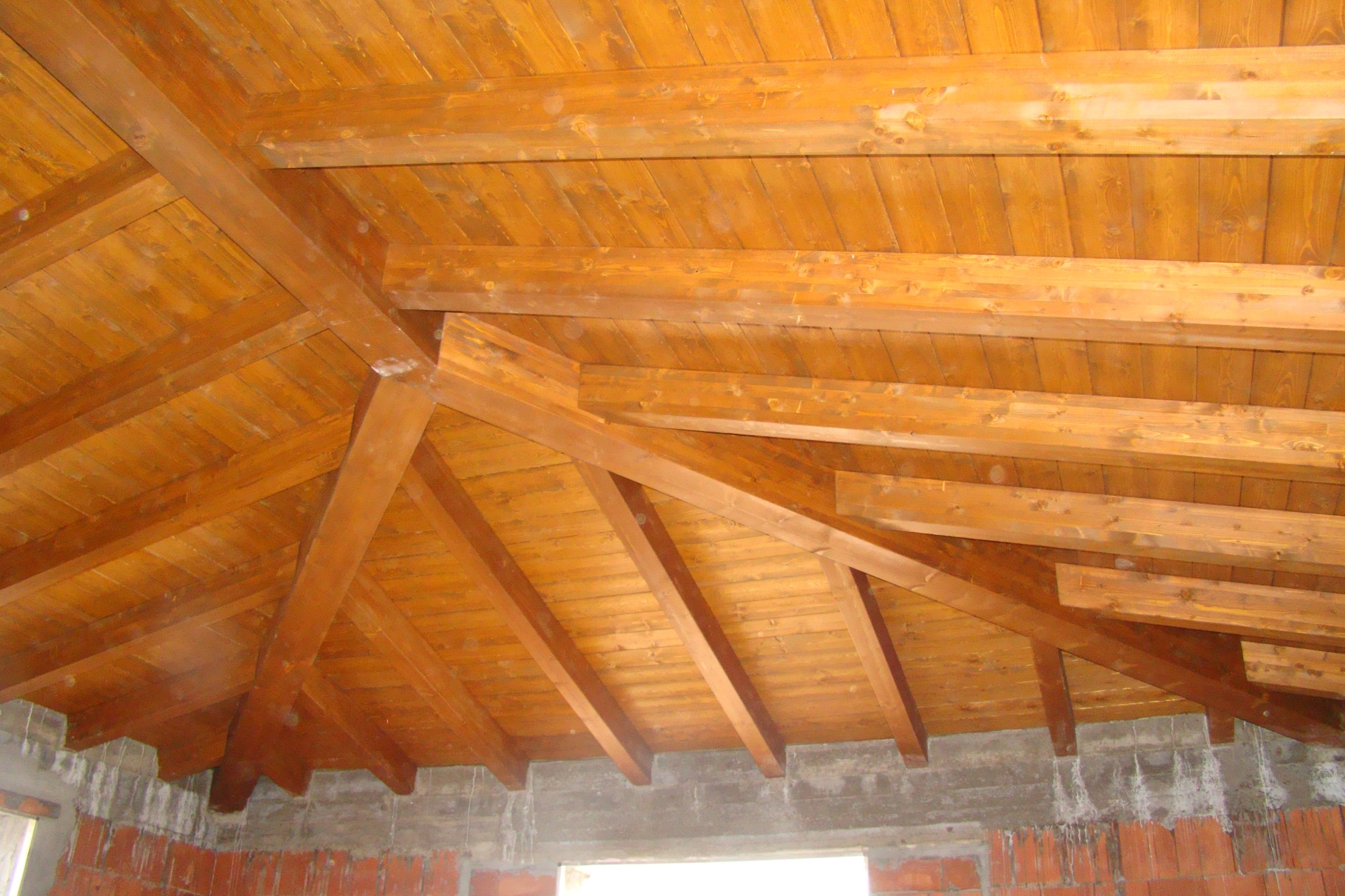 Copertura in legno casa unifamiliare  Tre Emme Service