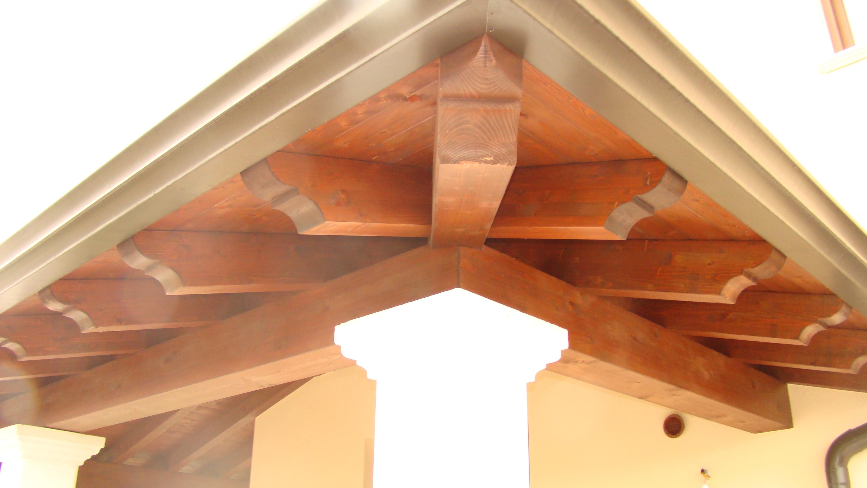 Popolare Copertura in legno casa unifamiliare | Tre Emme Service KM99